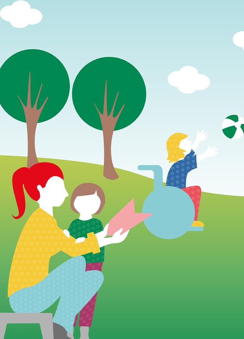 Caritas Lebenswelten Illustration