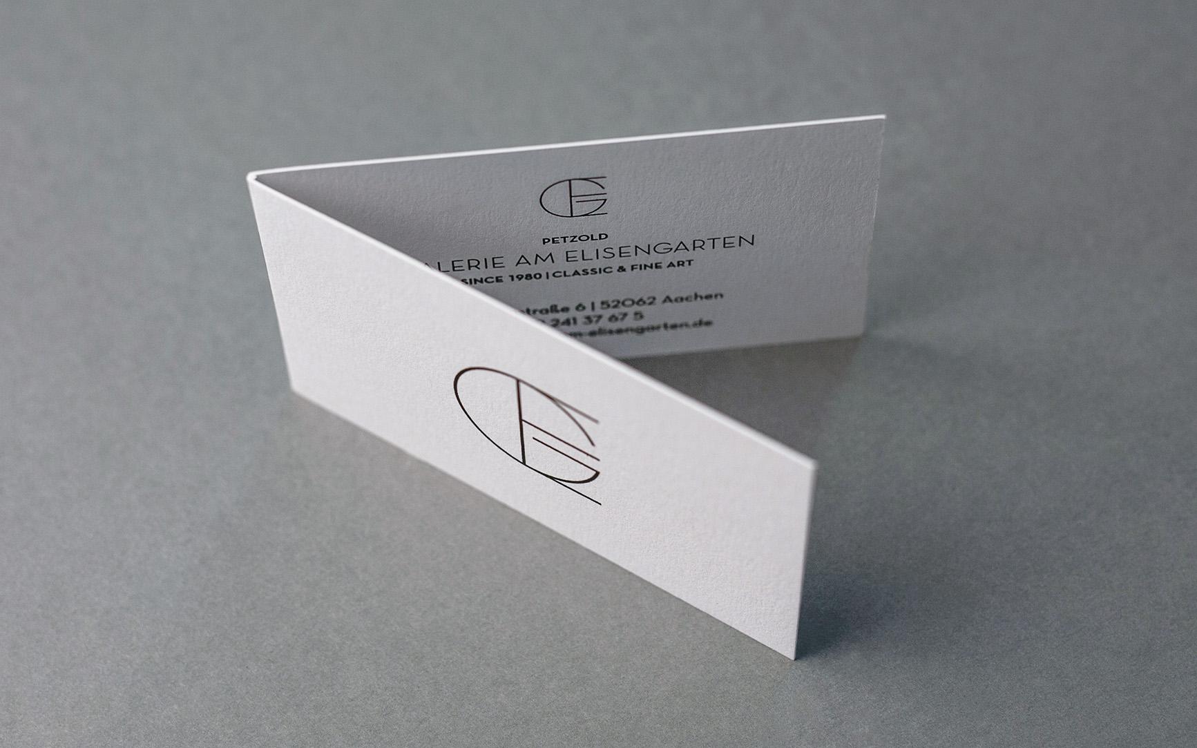 Galerie Visitenkarte