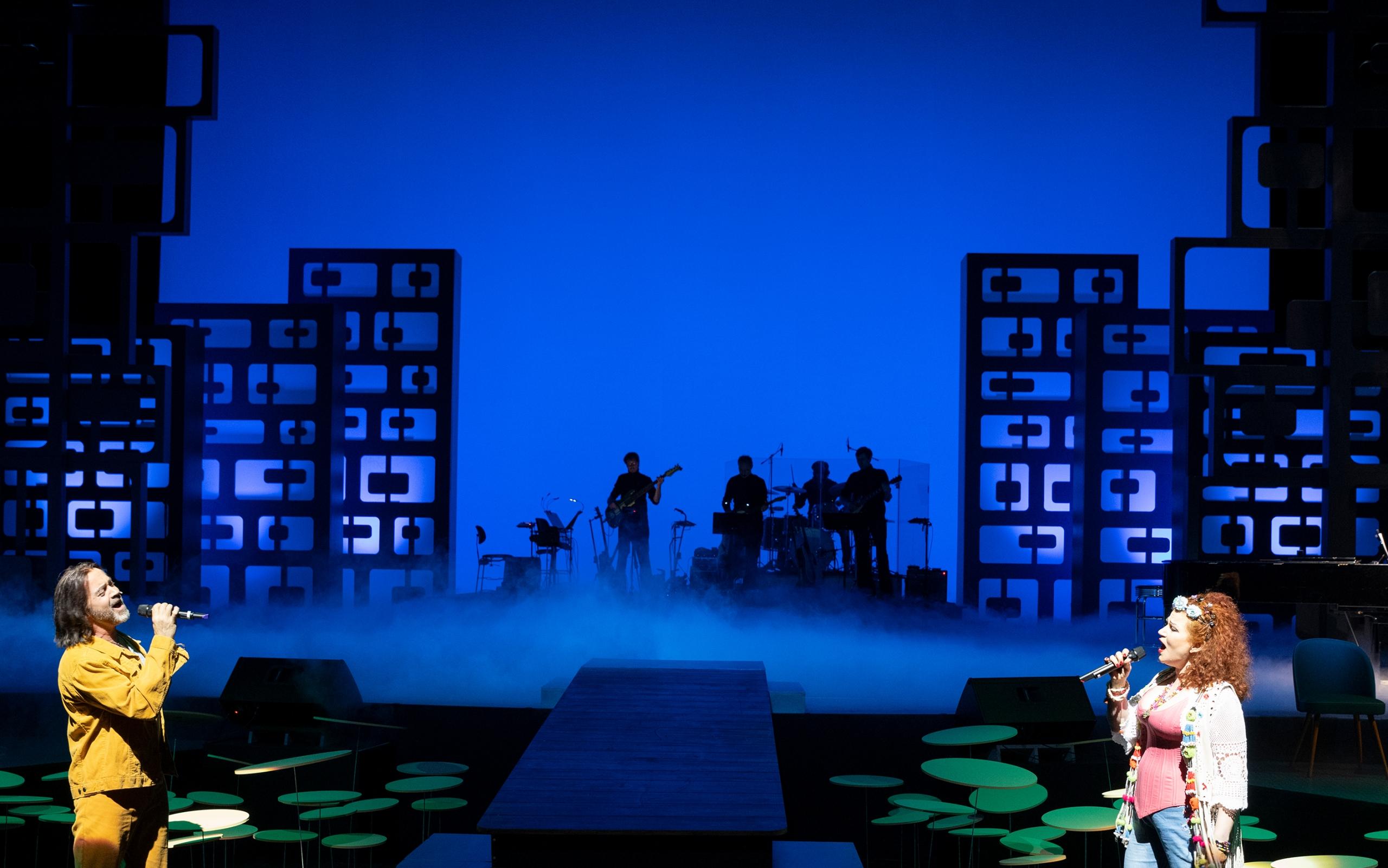 Yesterdate Bühnenelement