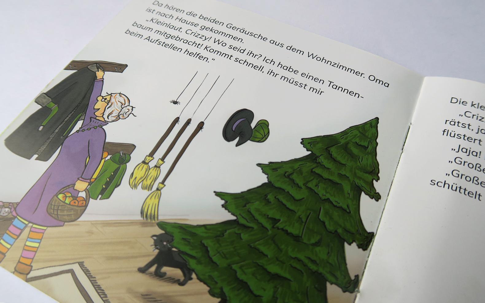 Hexe Kleinlaut Weihnachtsbuch mit Oma